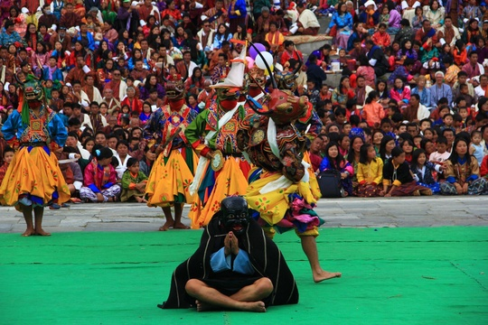 The Life after Death Mask Dance at Thimphu Festival