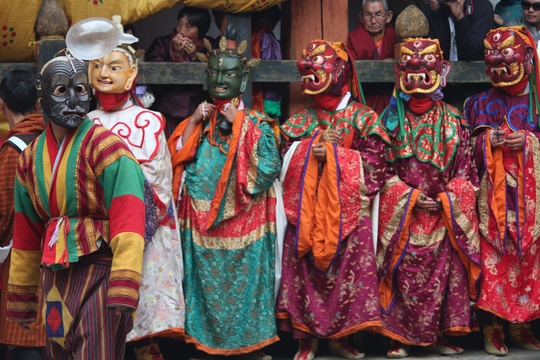 Mask Dance of Thimphu Festival