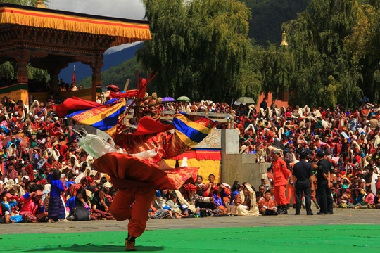 The Mask Dance of Thimphu Festival