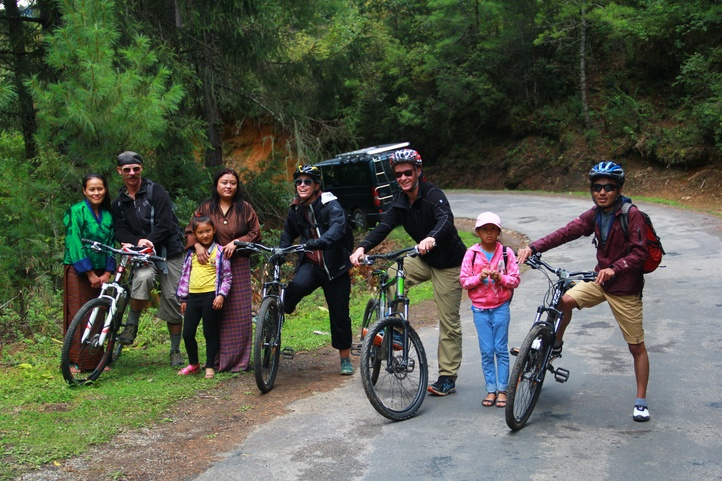Cycling in Bhutan, Cycling Tour, Alarcarte Activities