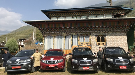 Bhutan Swallowtail Transport Services