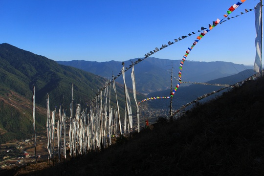 View from Dodeydrak Monastery, Off the beaten Activities in Bhutan